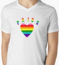 Pride Get Ready to Show Yours V-Neck T-Shirt