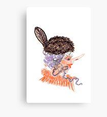 beaver hat Canvas Print