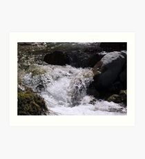 Babbling Brook Art Print