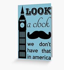 A Clock Greeting Card