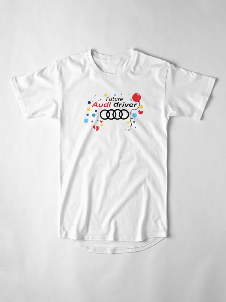 Alternative Ansicht von Zukünftiger Audi-Fahrer Longshirt