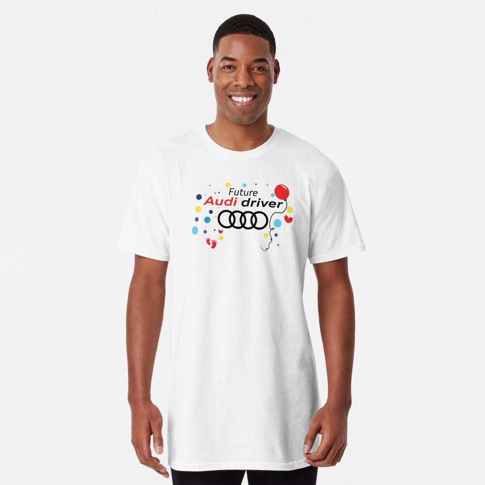 Zukünftiger Audi-Fahrer Longshirt