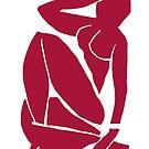 Matisse schnitt Abbildung # 3 Rot aus von ShaMiLaB