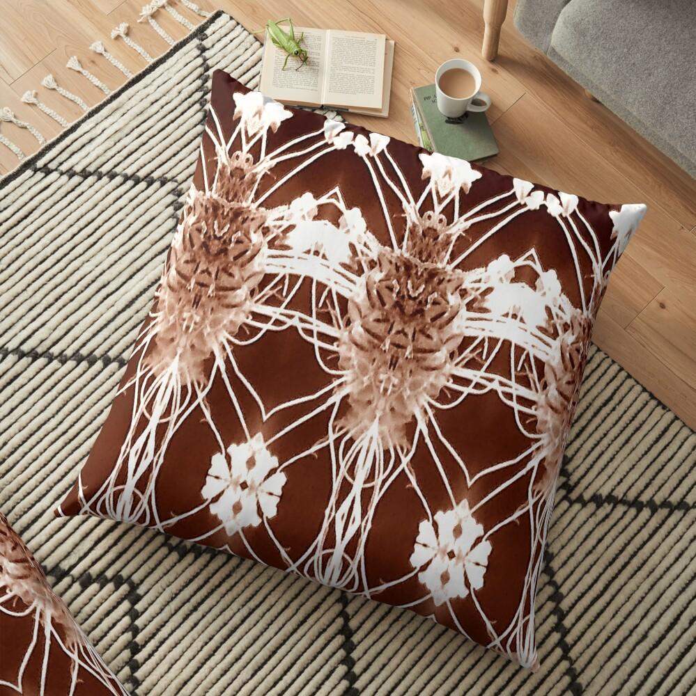 antique pattern Floor Pillow