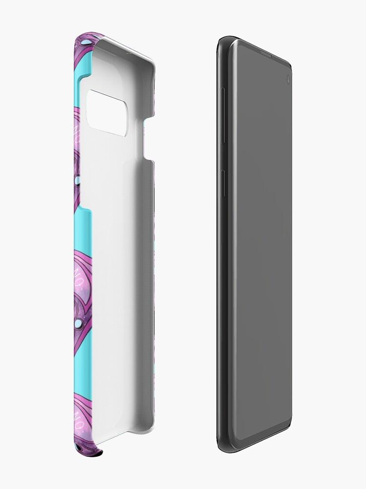 Alternative Ansicht von Pastell Planchette Hülle & Klebefolie für Samsung Galaxy