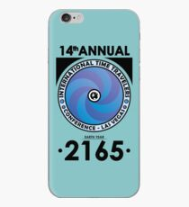 The Time Traveler's Conference 2165 iPhone Case