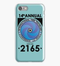 The Time Traveler's Conference 2165 iPhone Case/Skin