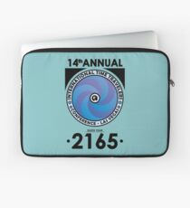 The Time Traveler's Conference 2165 Laptop Sleeve