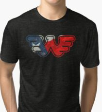 Texas Flying W Tri-blend T-Shirt