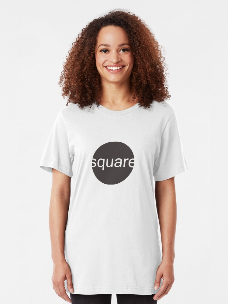 Alternate view of Think outside the square Slim Fit T-Shirt