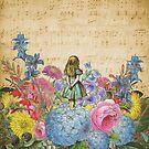 «Wonderland Magical Garden - Alicia en el país de las maravillas» de maryedenoa