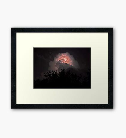 Aquilla's Storm Framed Print