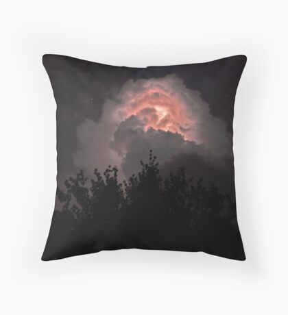 Aquilla's Storm Throw Pillow