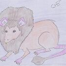 Lion Rat by CHClepitt