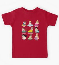 Pug Princesses Kids Clothes