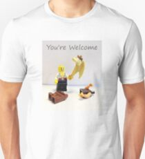 You're welcome Unisex T-Shirt