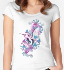 Spring Hummingbird Women's Fitted Scoop T-Shirt
