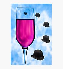 Cocktails with Magritte - Print Photographic Print