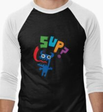 SUP?  on darks Men's Baseball ¾ T-Shirt