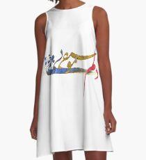 I Love Music A-Line Dress