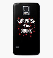 4. Juli Überraschung, ich bin betrunken Hülle & Klebefolie für Samsung Galaxy
