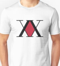 Hunter Association Logo - Hunter X Hunter Slim Fit T-Shirt