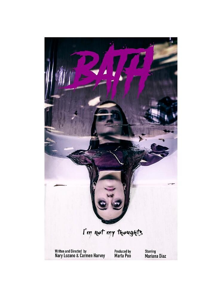 BATH Short-film OFFICIAL POSTER & MERCH by Bath-short-film