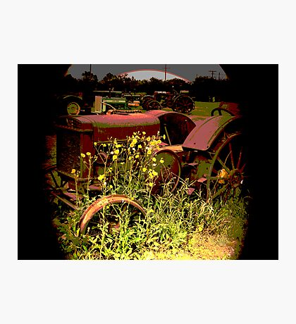 Retired From Active Service II Photographic Print