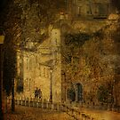 Lovers in Montmartre by dawne polis