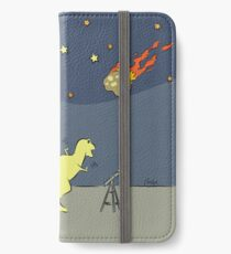 Dino Disaster - AsteroidDay iPhone Wallet/Case/Skin