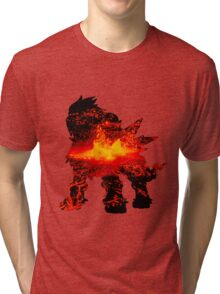 Entei used eruption Tri-blend T-Shirt