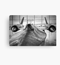SR 71 Blackbird Canvas Print