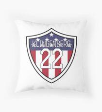 Meghan Klingenberg # 22 | USWNT Kissen