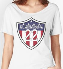 Meghan Klingenberg #22 | USWNT Women's Relaxed Fit T-Shirt