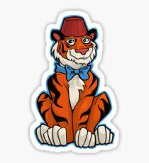 Tiger Who Sticker
