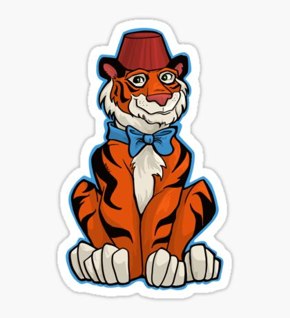 Tiger Who Sticker