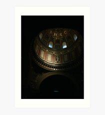 St Stephens Basilica Budapest Art Print