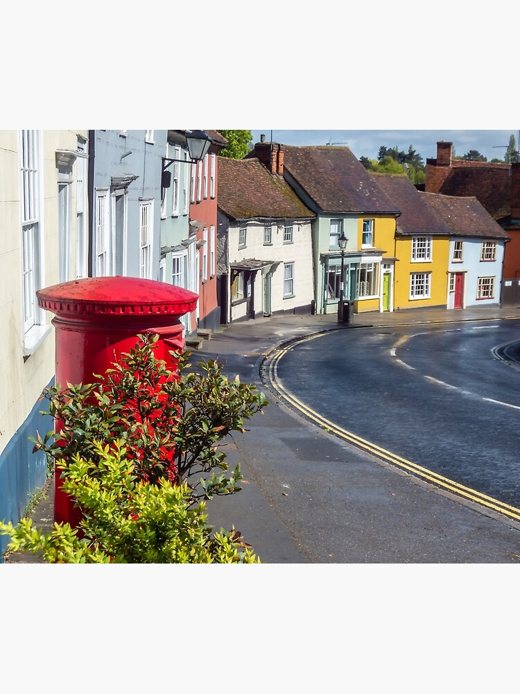 Thaxted colorful houses, Essex by tdphotogifts