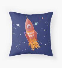 Spacemint Astronaut Throw Pillow