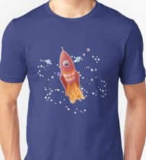 Spacemint Astronaut Slim Fit T-Shirt