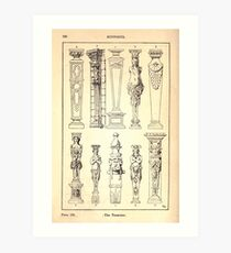 A Handbook Of Ornament With Three Hundred Plates Franz Sales Meyer 1896 0242 Supports Terminus Art Print