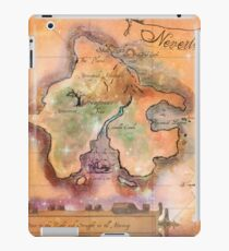 Neverland Map  iPad Case/Skin