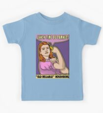 """Old Reliable Willow says """"Eat the banana now!"""" Kids Tee"""