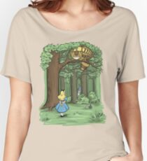 My Neighbor in Wonderland Women's Relaxed Fit T-Shirt