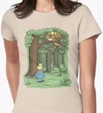 My Neighbor in Wonderland Women's Fitted T-Shirt