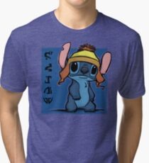 Cunning and Blue! Tri-blend T-Shirt