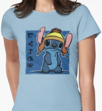 Cunning and Blue! Womens Fitted T-Shirt