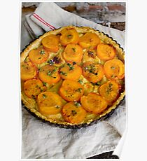Apricot Tart Poster