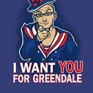 Uncle Dean wants YOU by Karen  Hallion
