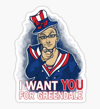 Uncle Dean wants YOU Sticker
